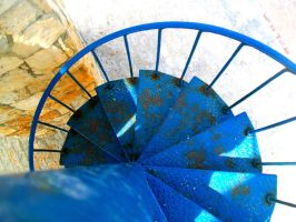 Spiral Staircase by xxROBIN
