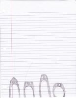 Penguins Doodle by NeonIcing