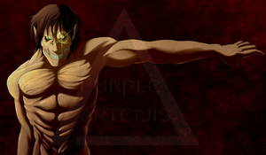 AAC Print 1 - Shingeki No Kyojin WIP by PurpleArtemis