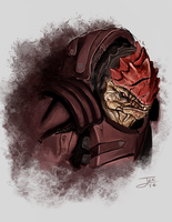 Urdnot Wrex by Arcaneillusions
