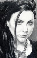 Amy Lee - Evanescence by pikkuclara