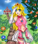 Peachy new Outfit by Medusa-chii