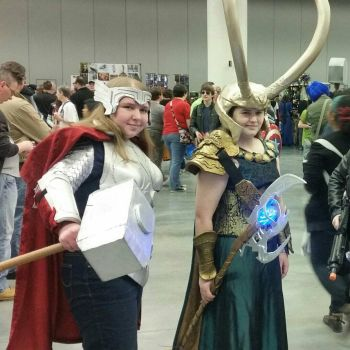Thor and Loki by g0tribe95
