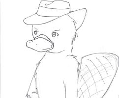 Perry the Platypus by Yami-Dante