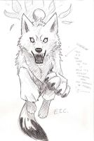 Drawing a wolf tutorial 7 of 7 by wolfsouled