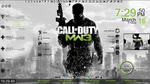 Call Of Duty Modern Warfare 3 Rainmeter skin by freeradical1981