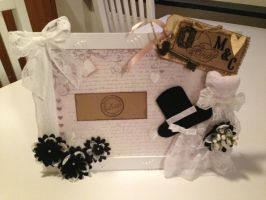 Wedding Picture frame by KittenontheKeys