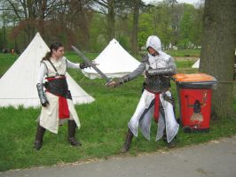 Altair vs Altair at EFF 2011 by LadyRafira