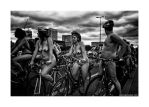 World Naked Bike Ride 21 by lightdrafter