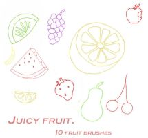 juicy fruit by peteandbob