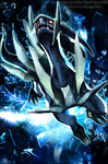 Dialga, God of Time by Xous54