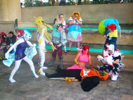 Otakon 2012 - Minor Characters Kill Ganondorf by mugiwaraJM