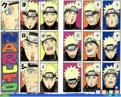 My Naruto  Desktop by LorvicMeow