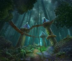 The Fairy Forest by Noldofinve