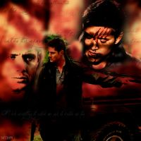 Dean Winchester, I'm just Done (background #3) by svesh95