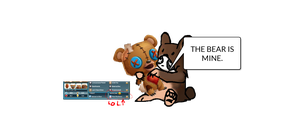 Sammy: THE BEAR IS MINE. by Moracalle