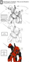 Work-Progress: Deadpool - They see me Ruuunnin~ by IFrAgMenTIx