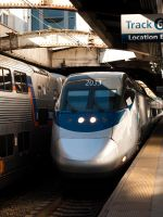 Acela at Baltimore by The-Nightshift