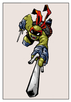 Raphael by Sophia Campbell - colored by carriehowarth