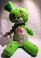 Zombie Bear Plush -For Sale- by FuzzyAliens