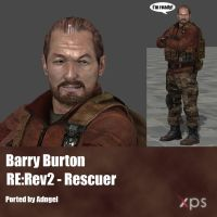 Barry Burton RE:Rev2 Rescuer by Adngel