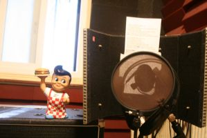 At Castle Production recording studio by Pabloramosart