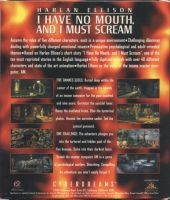 I Have No Mouth And I Must Scream Back Cover by derrickthebarbaric