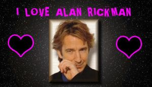 Alan Rickman by LuniX-