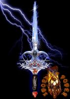 Sword of Power by Delfs1970