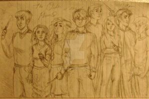 Order Of The Phoenix Doodle by Clarinetta