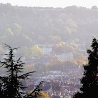 The View Over The Valley From Bristol's Royal Park by aegiandyad