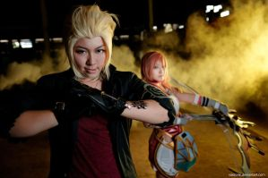 Final Fantasy XIII-2: Lets Fight by vaxzone