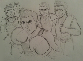 PO: Little Mac by lewisrockets
