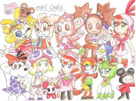 more girls in team mini gals by sheezy93