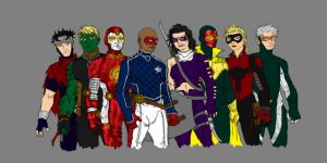 Young Avengers by SEELE-02