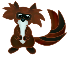 Tanuki by DraconianQueen