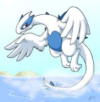 Lugia Splash by nepryne