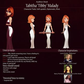 Tibby Audition Sheet by IsaiahStephens