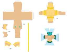 Paper Crafts: Cleo de Nile by KPenDragon