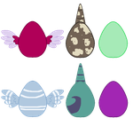 Egg adopts (4/6 OPEN) by puddycat431