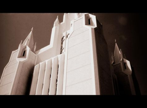San Diego Temple 1 by MiniWookie