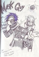 drawing from sketch book 3 by manga-kachazchan