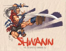 DJ Shwann Colors by Coloring by Shwann