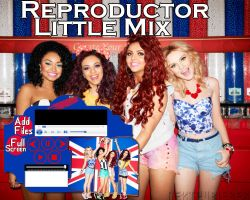 Reproductor de musica ejecutable: Little Mix by Cursorsandmore
