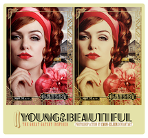 Photoshop action ~ YOUNG AND BEAUTIFUL by cmon-eileen