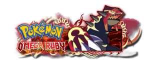 Pokemon Omega Ruby - Omega Groudon Signature by darside34