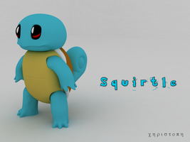 Squirtle by thekeyofE