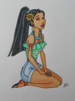 Indian Summer - Pocahontas by happyeverafter