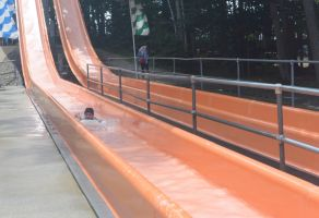 The Water Slide, End of the Line by Miss-Tbones