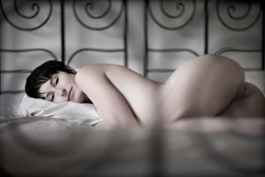Shai on my bed by PerryGallagher